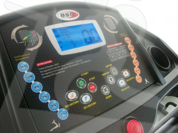 Tapis roulant TX-Fitness TX8000 HRC BSQ console