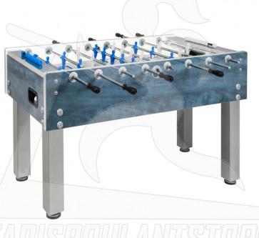 Calciobalilla Garlando G 500 W aste uscenti per esterno blu
