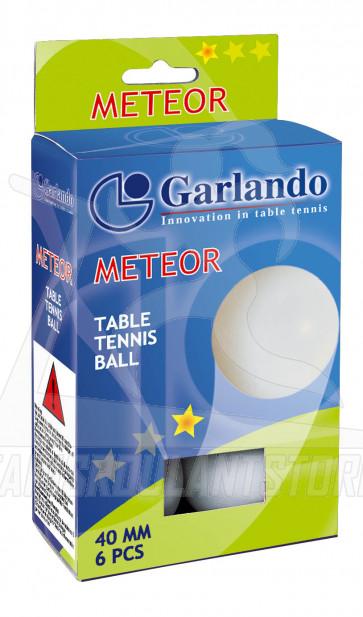 Confezione 6 Palline Meteor Garlando ( 1 stella )