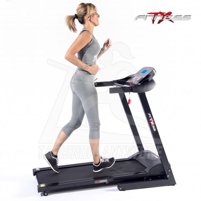 tapis roulant motorizzato tx fitness tx 9000 hrc new - Tapis Roulant