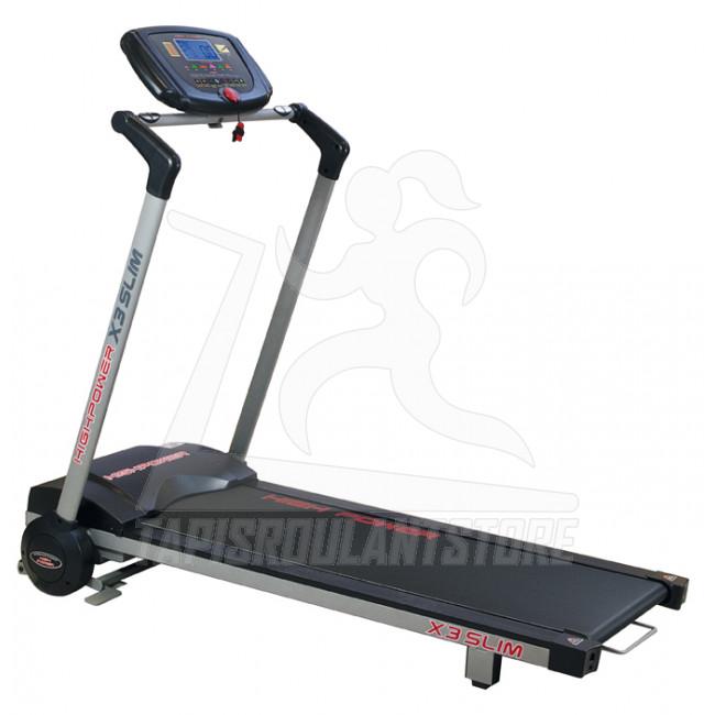 Tapis roulant salvaspazio high power x3 slim vendita - Tappeto elettrico ...