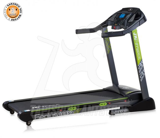 Tapis Roulant Motorizzato JK Fitness Genius 10450: vendita online Tapis Roulant Store