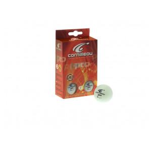 Palline da Ping Pong Cornilleau Pro Confezione da 6 pezzi