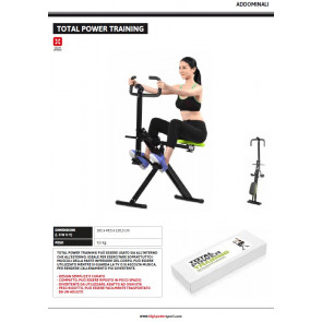 Panca Addominali Total Power Trainer